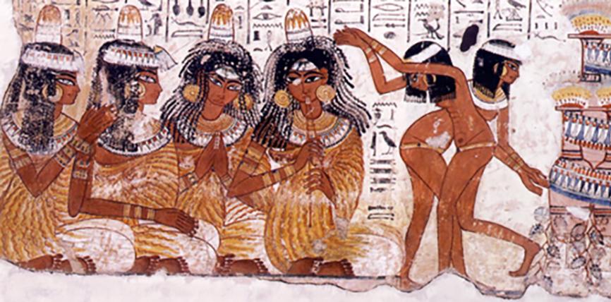 Танцовото изкуство на древен Египет